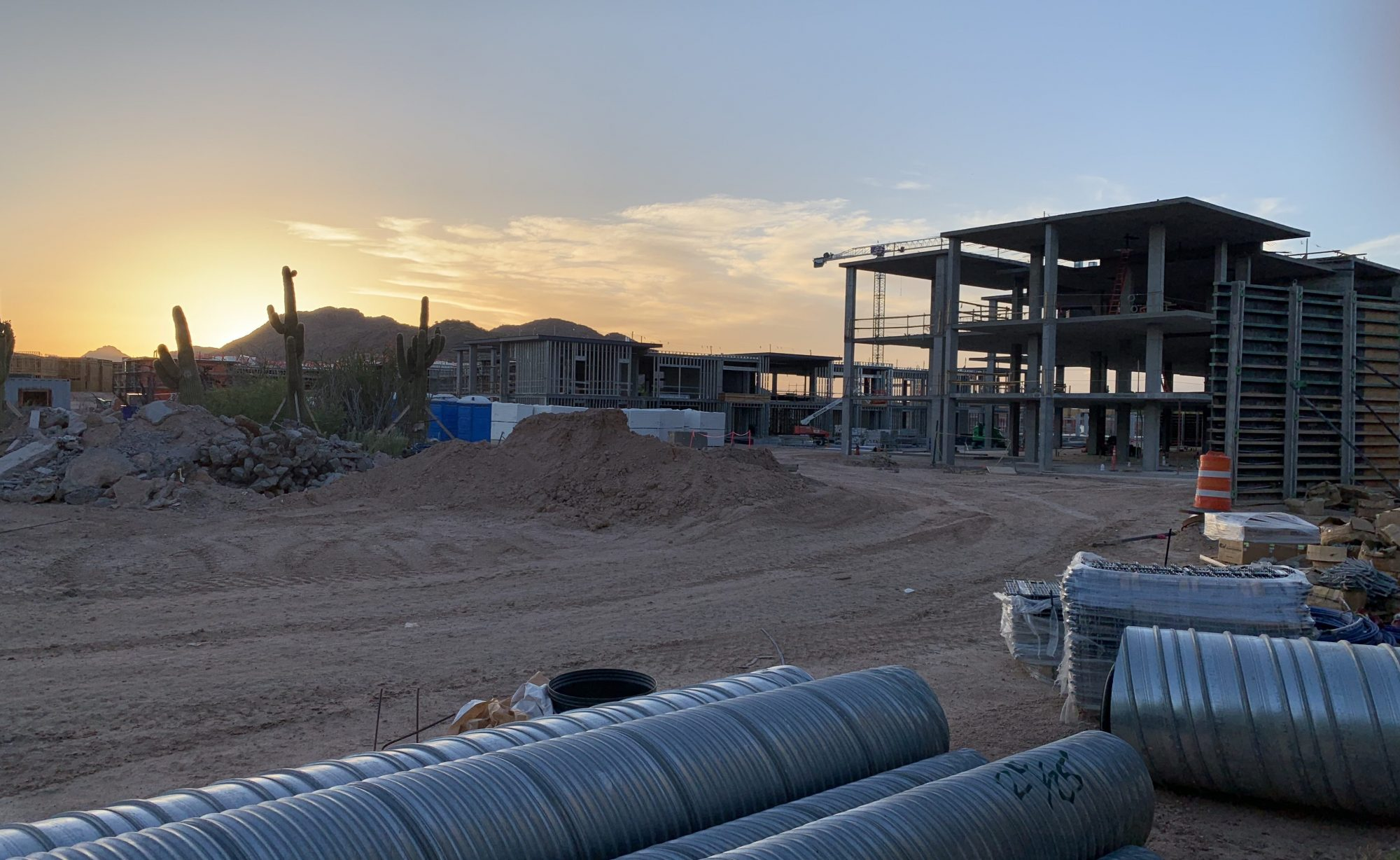 ARIZONA CONSTRUCTION and the LAW
